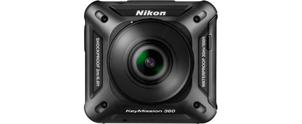 Nikon komt met 360 graden-actiecamera Keymission 360