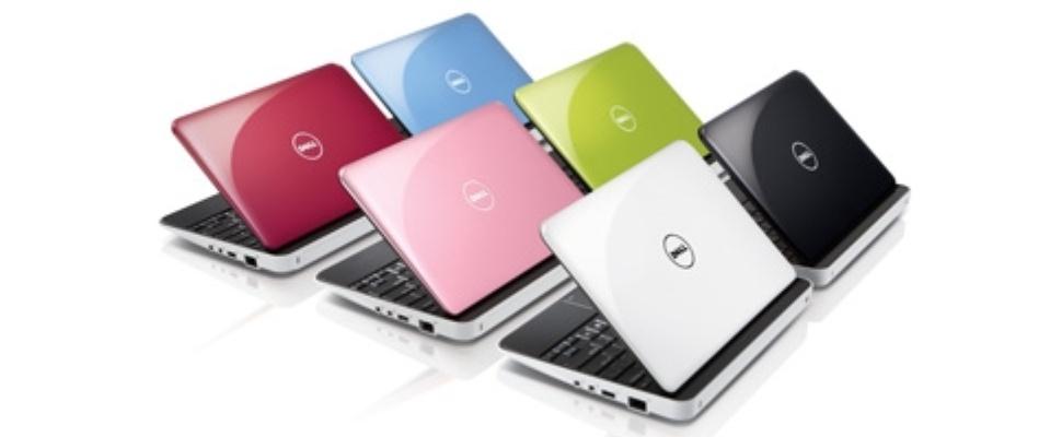 Nieuwe netbooks van Dell