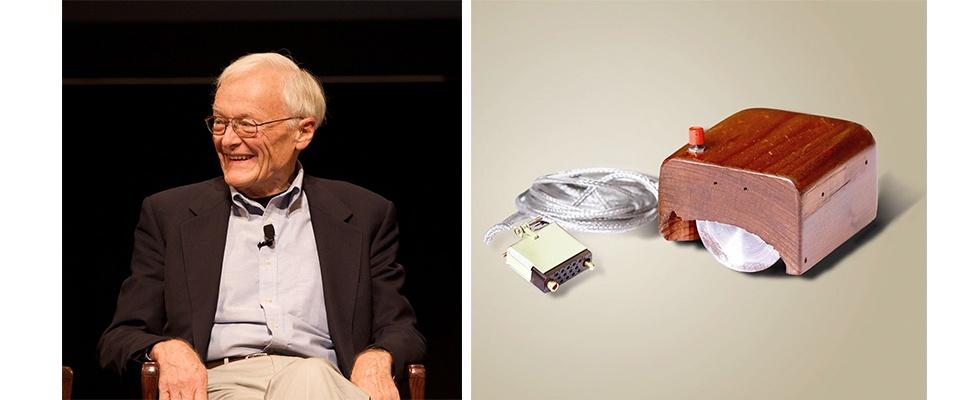Mede-uitvinder eerste computermuis overleden