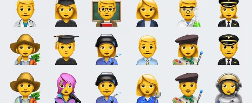 Apple lanceert tientallen nieuwe emoji in iOS 10.2
