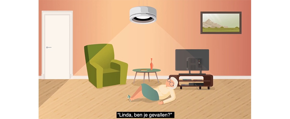 Nobi is slimme lamp met valdetectie voor ouderen