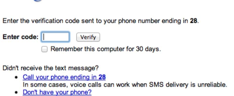Zet tweestapsverificatie aan bij Gmail