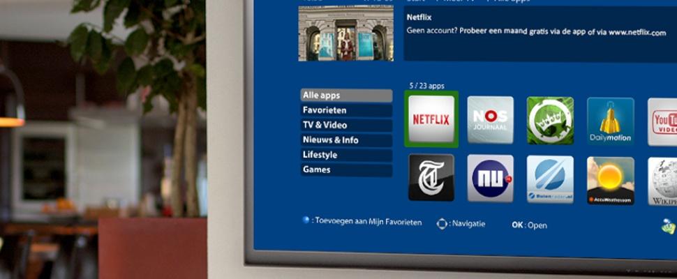 Netflix straks bij digitale tv van KPN