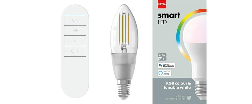 Goedkope slimme verlichting met Smart LED-serie van Hema