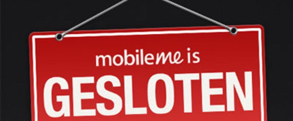 Apple sluit MobileMe