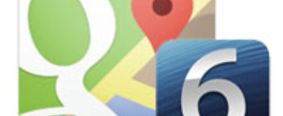 Google Maps-app voor iOS 6