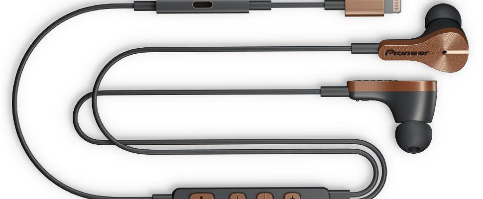 Pioneer Rayz: iPhone 7-oordoppen met ruisonderdrukking