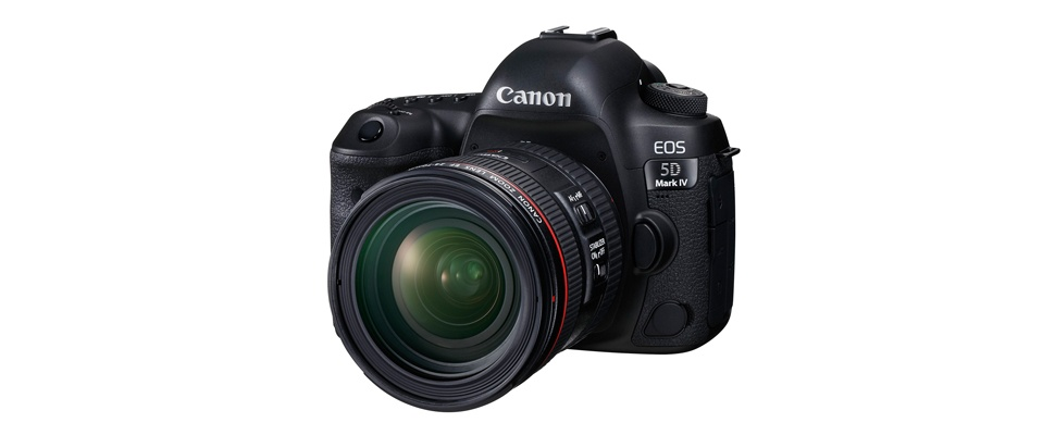 5D-serie Canon stapt over op 4K