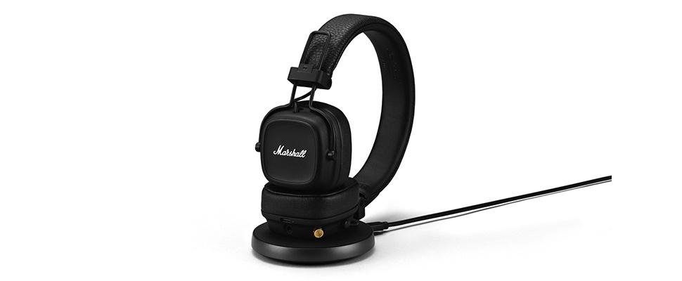 Marshall Major IV-koptelefoon (haast) niet leeg te luisteren