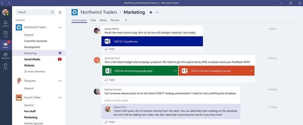 Vergaderplatform Microsoft Teams groeit als kool