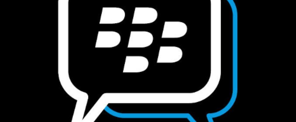 Virtueel in de rij voor BlackBerry Messenger-app