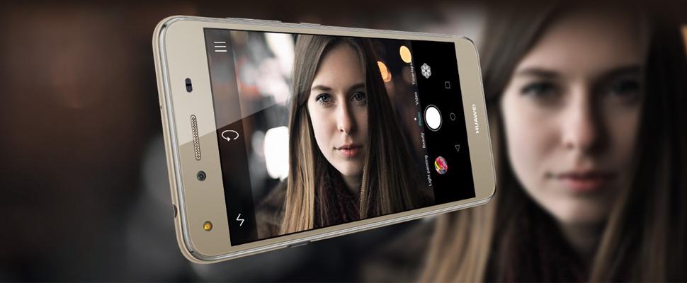 Huawei Y5 II heeft flitser aan voorkant
