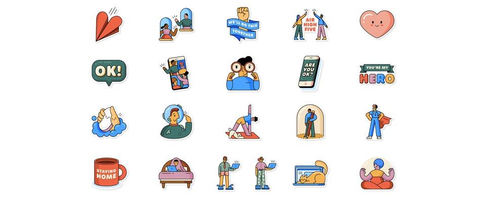 Zo download je de corona-stickers voor WhatsApp