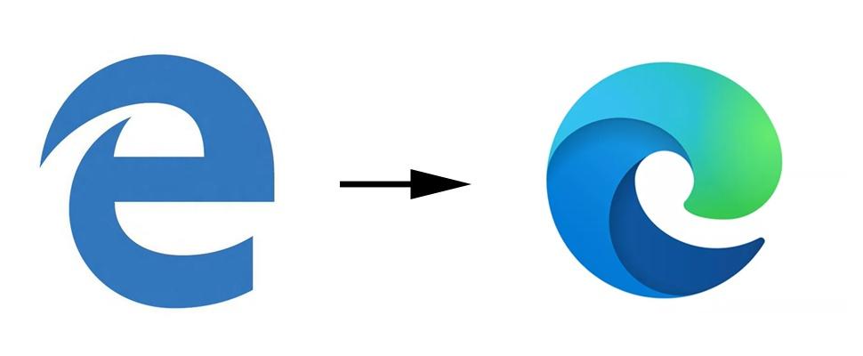 Microsoft onthult nieuw logo voor Edge-browser