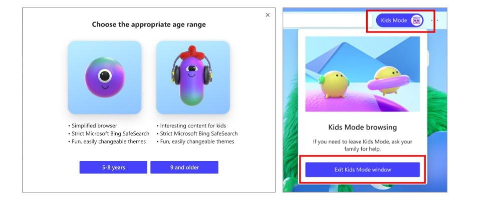 Nieuwe modus Edge-browser laat kinderen veilig internetten