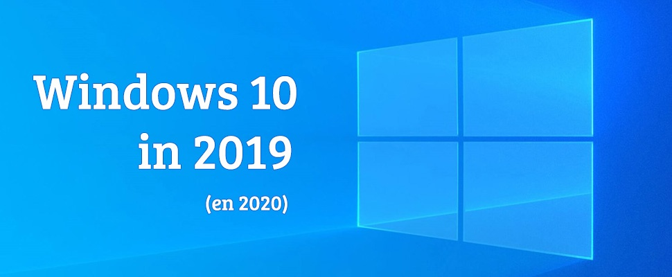 Windows 10 in 2019: Microsoft neemt gas terug