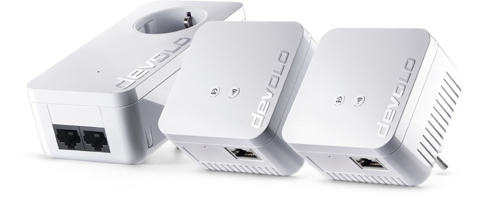 Devolo Dlan 550 Wifi combineert powerline met wifi