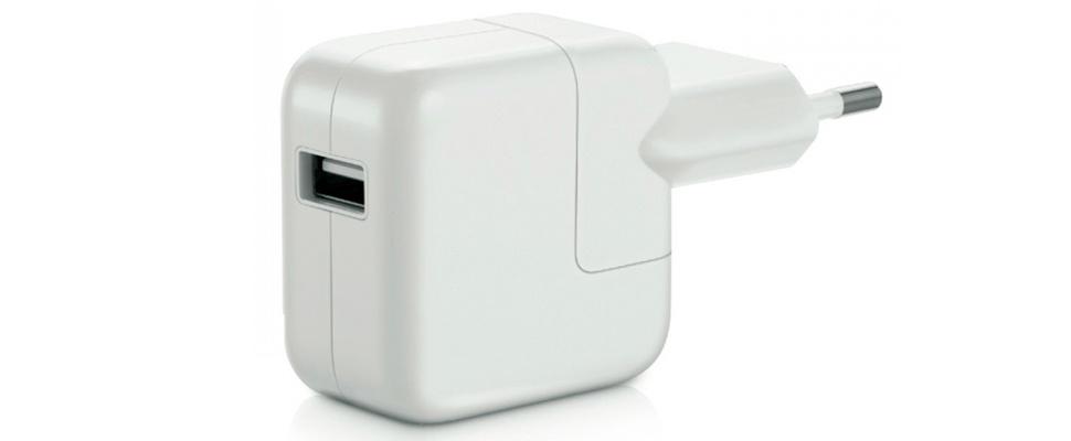 Apple start omruilactie adapters wegens schokgevaar