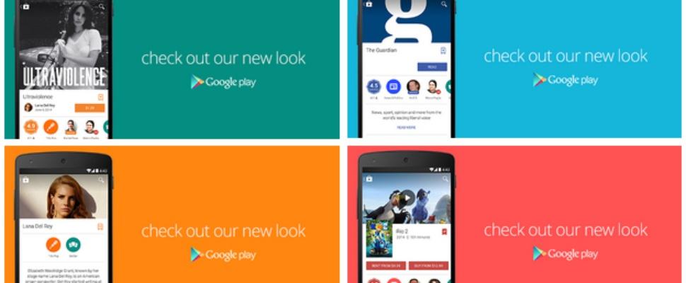 Makeover voor Google Play