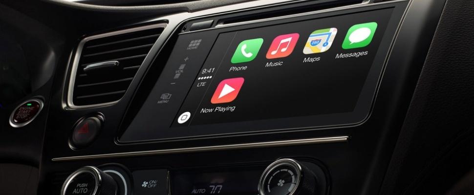 Apple Introduceert Carplay Een Infotainmentsysteem Voor