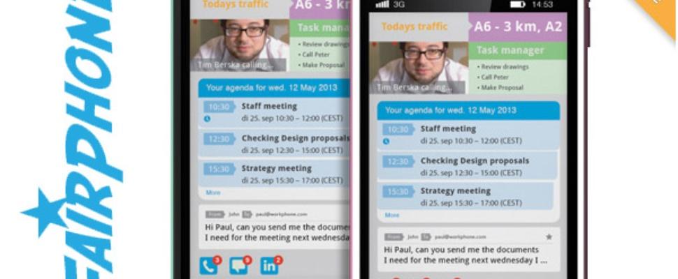 FairPhone: Eerlijke telefoon van Amsterdammers