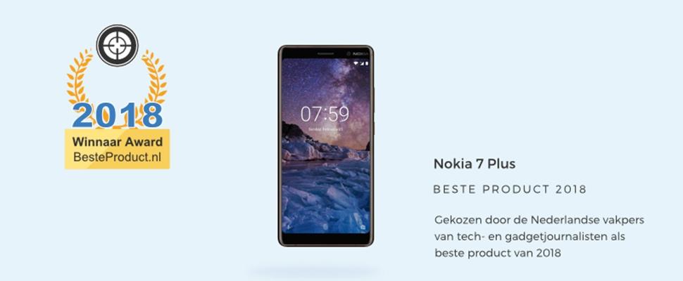 Vakpers oordeelt: Nokia 7 Plus is beste product 2018