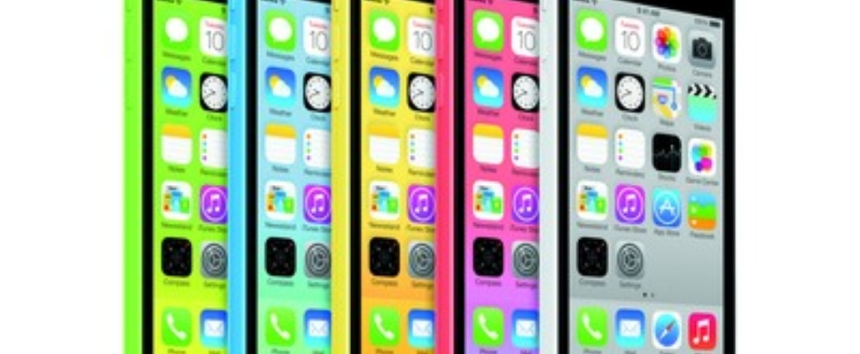 iPhone 5c: vanaf 99 dollar