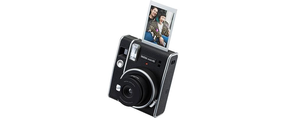Polaroids altijd goed belicht met Instax Mini 40