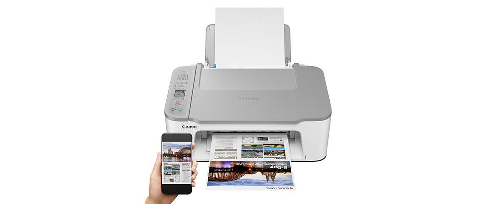 Canon Pixma TS3450: Slimme printer voor paar tientjes