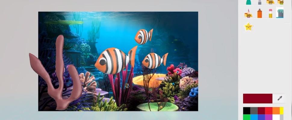 3D-objecten tekenen in nieuwe versie Paint