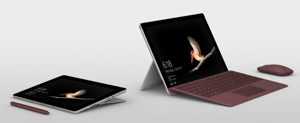 Microsoft presenteert de Surface Go Tablet