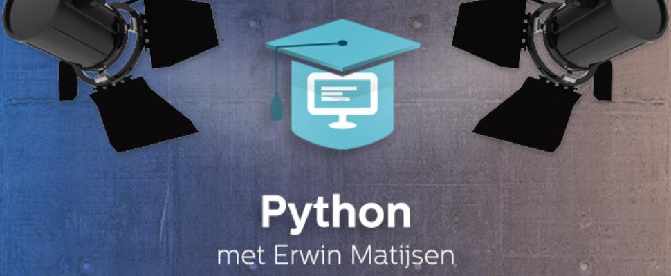 Leer programmeren met Python in drie stappen