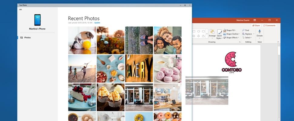 Smartphone-foto's in oogwenk overzetten met nieuwe Windows 10-functie