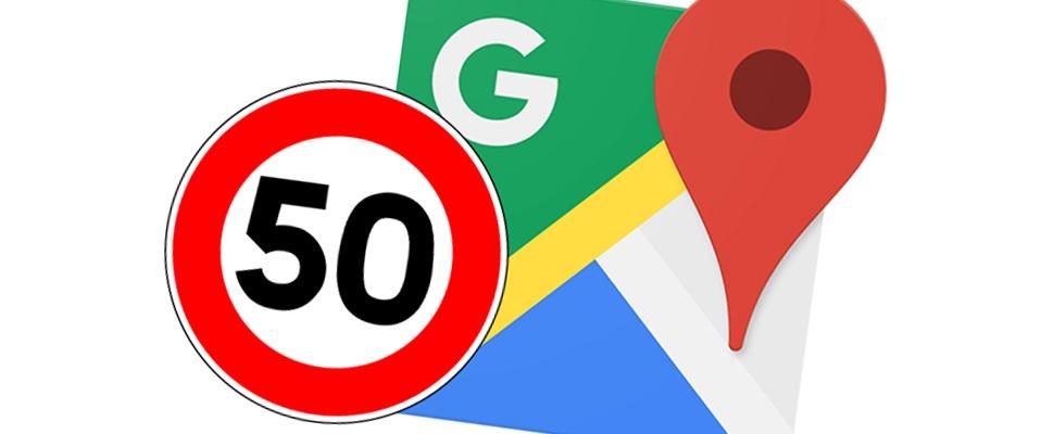 Maximale snelheid en flitsers voortaan in Google Maps