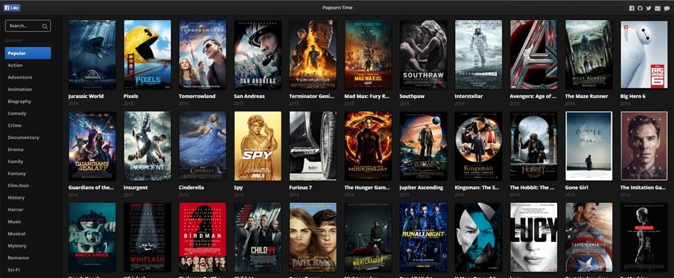 Hoe lang blijft deze 'Popcorn Time in je browser' online?