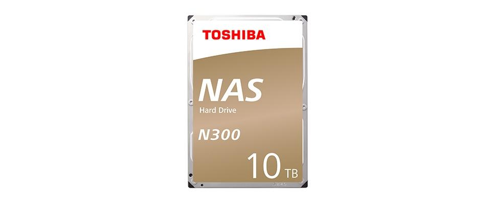 Toshiba-hdd ook als 10 TB-variant