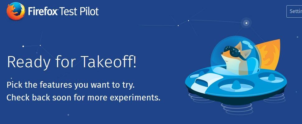 Experimentele Firefox-functies proberen met Test Pilot
