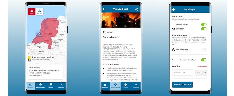Overheid: Verwijder onze onveilige NL-Alert-app