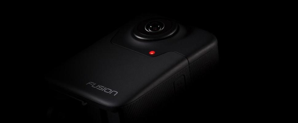 GoPro onthult 360-graden-camera Fusion