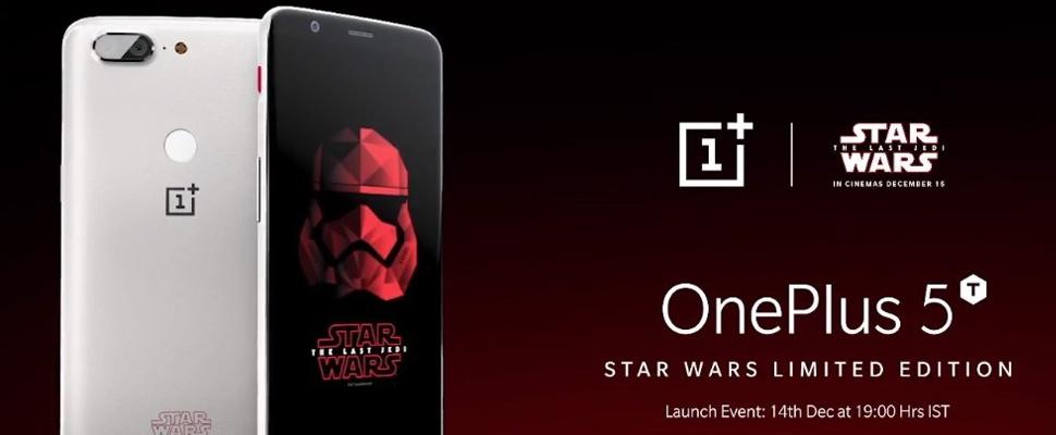 Star Wars-editie OnePlus 5T onthuld
