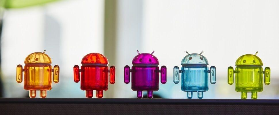 Android Pie pas op 10% smartphones