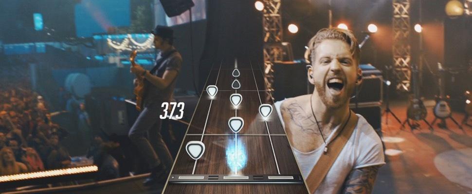 Nieuwe Guitar Hero plaatst je op het podium