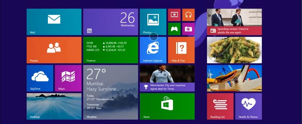 Windows 8.1 populairder dan Apples OS X Mavericks