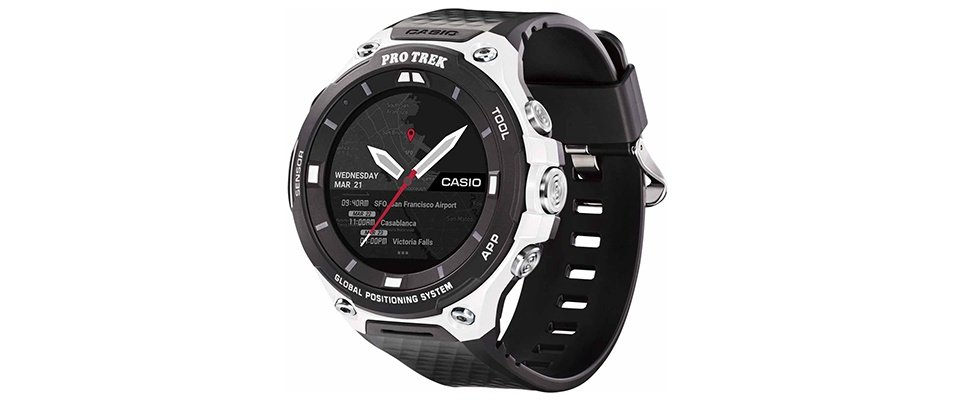 WSD-F20SC is extra stevige Casio-smartwatch