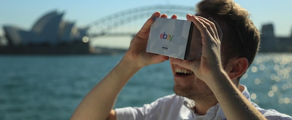 eBay lanceert vr-bril Shopticals voor virtual reality-warenhuis