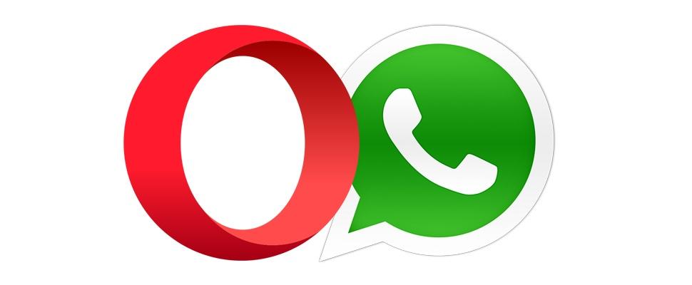 WhatsApp-integratie voor Opera-browser