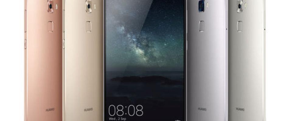 Huawei Mate S met drukgevoelig scherm ook in Nederland te koop