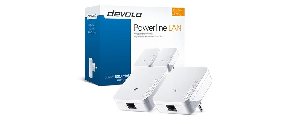 Win een dLAN 1000 mini Starter Kit van Devolo