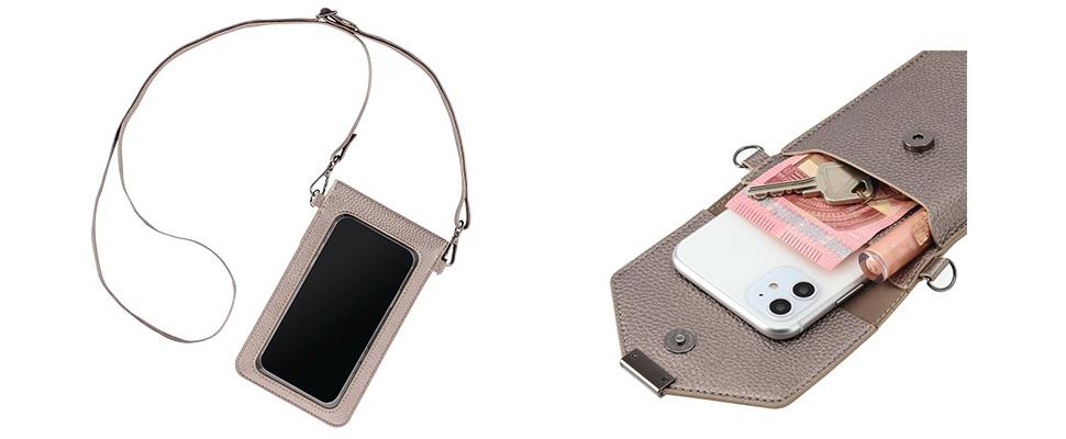 Smartphone en sleutels veilig verstopt met Hama-heuptasje