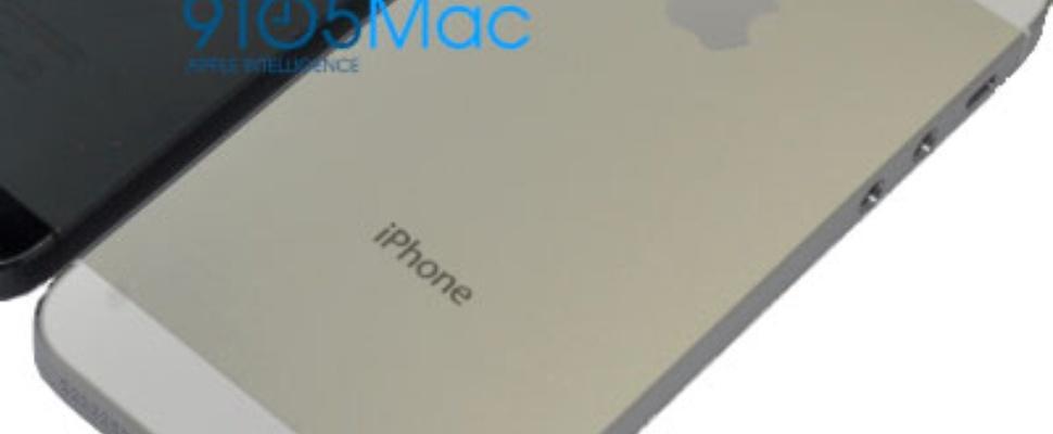 iPhone 5-behuizing gelekt